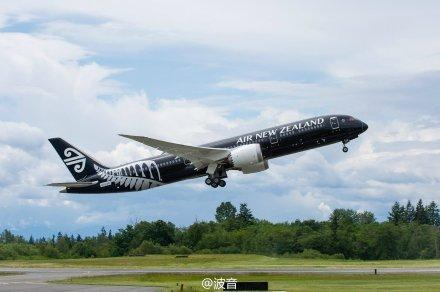 首架波音787-9梦想飞机交付新西兰航空 | 中国民用