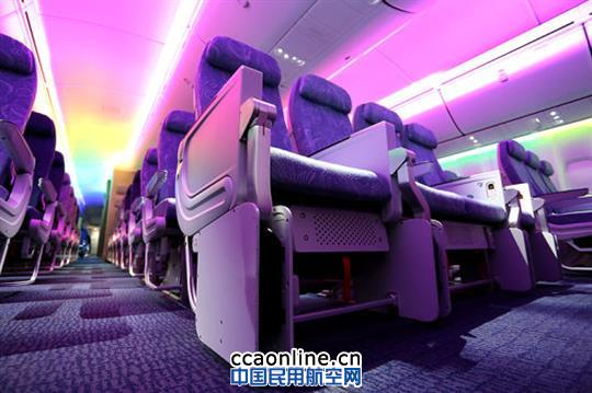 中国首架波音747-8飞抵北京 可搭载467名乘客