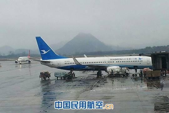 2012年贵阳机场旅客吞吐量突破870万人次