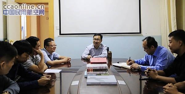 新疆空管局党委书记杨海红赴阜康导航站调研