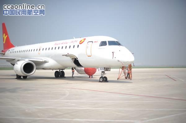 巴航工业暨天航E190完成喀纳斯机场RNPAR试飞
