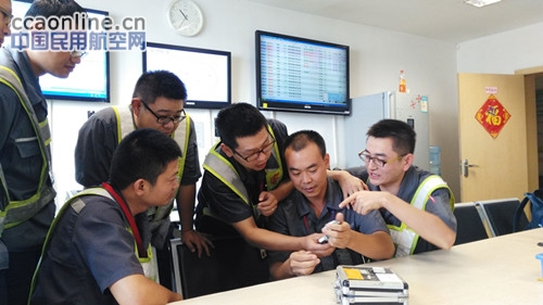 ameco武汉航线维修车间组织飞机外损伤知识培训