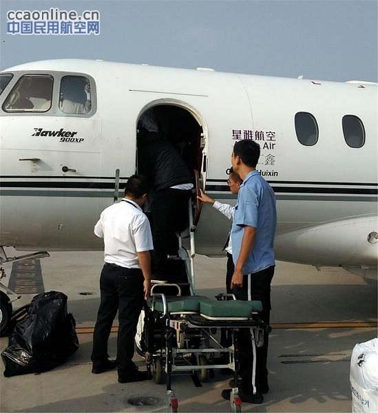 接到飞机计划后,青岛机场立即启动了应急处置预案,按照程序第一时间