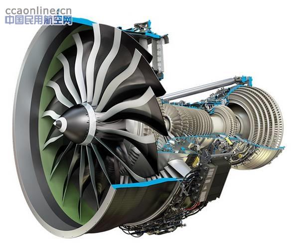 波音777X的GE9X发动机首台验证核心机开始测试
