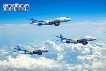 巴航工业首架E-JetsE2飞机将于明年2月25日下线