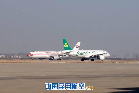 东航西安维修基地首次完成春秋航空a320飞机c检