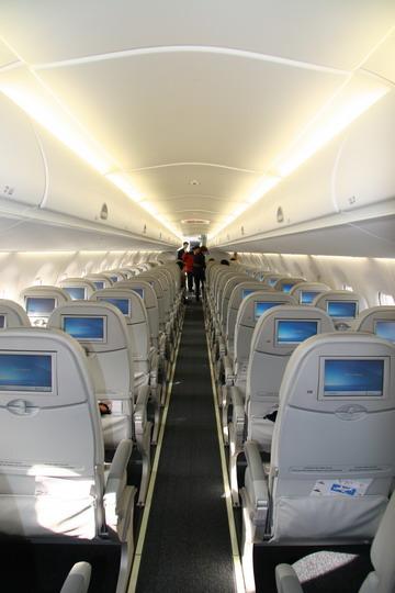 飞机安装了所需要的视频和音频旅客娱乐系统