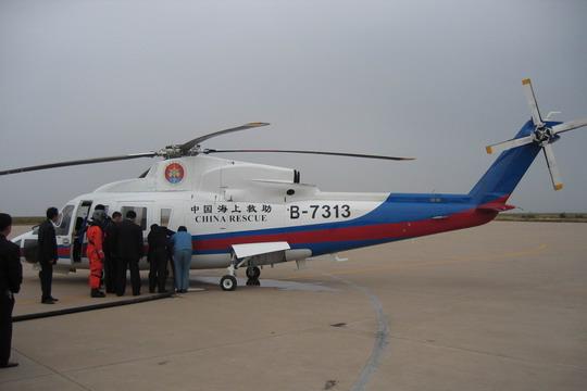 东营机场启动应急救援程序保障海上救援飞机