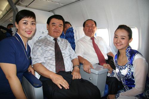 南航新疆公司成功首航乌鲁木齐-喀纳斯航线