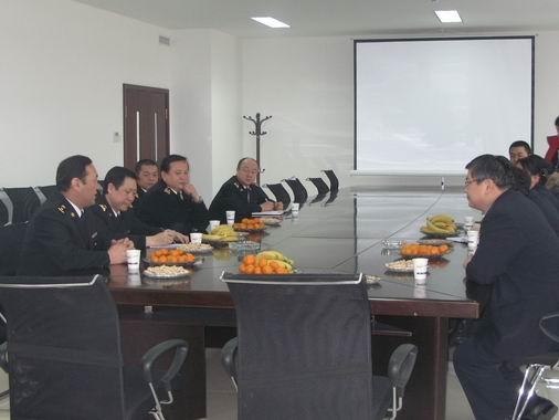 南航新疆地保部与乌鲁木齐机场海关座谈