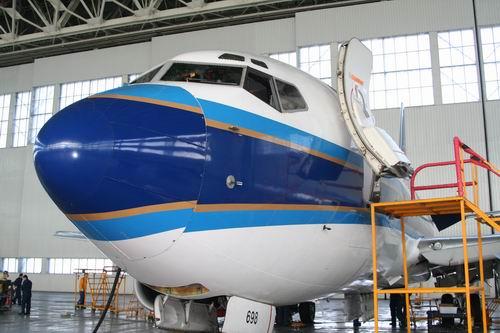 新疆飞机维修基地加强思想工作确保队伍稳定