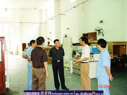 飞院吴旭勇副校长关心飞机修理厂灾后建设