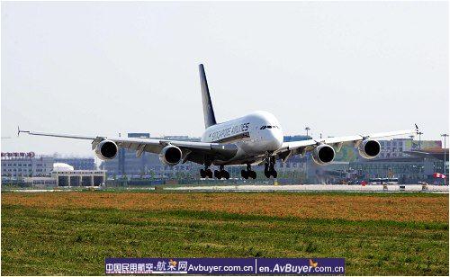 中集天达A380旅客登机桥圆满完成奥运保障
