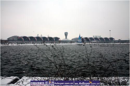 青岛流亭国际机场笑望蓝天三十年