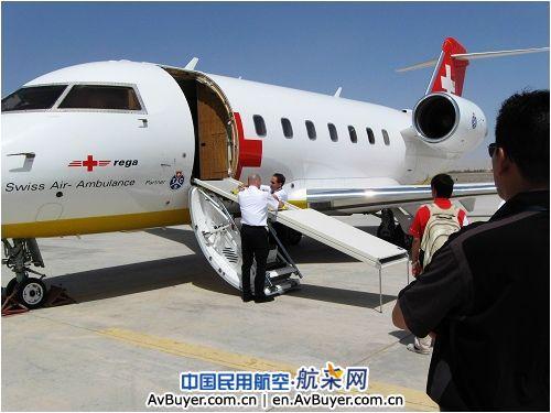 瑞士航空飞机飞抵喀什机场接回4名受伤游客