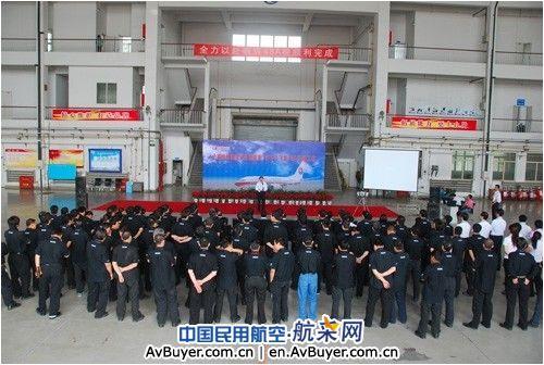 东航山西完成首架波音737飞机48a定检工作