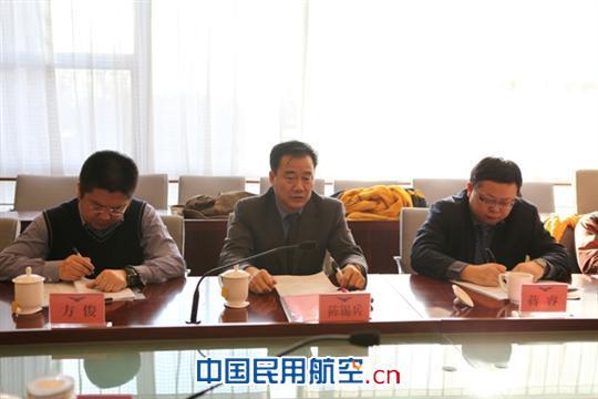 吕志农局长首先代表北京局向民航局各位领导做工作汇报,从北京局发展