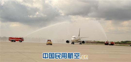 """邮航开通""""呼和浩特-郑州-南京""""快递往返航线"""