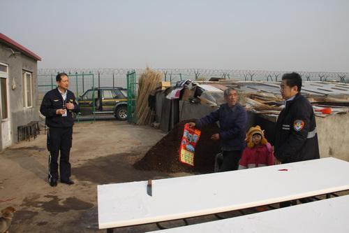 青岛机场场务部组织开展净空保护宣传党员活动日