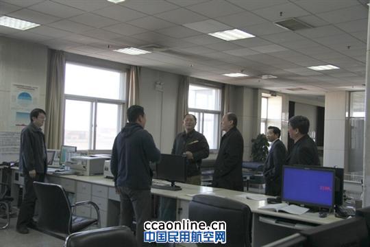 华北空管局文学正局长到天津分局走访调研