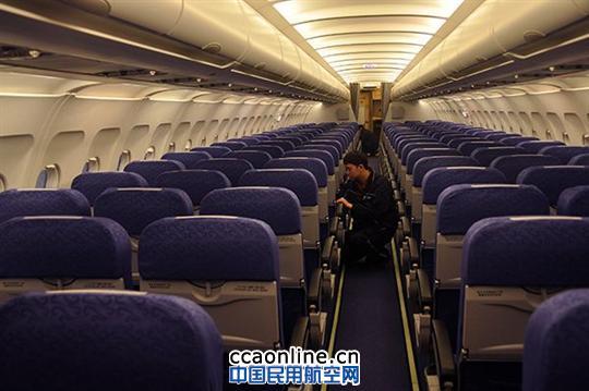 国航成都机务首次为319飞机实施整机座椅翻修