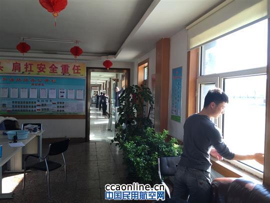 中国航油内蒙古学雷锋志愿服务在行动