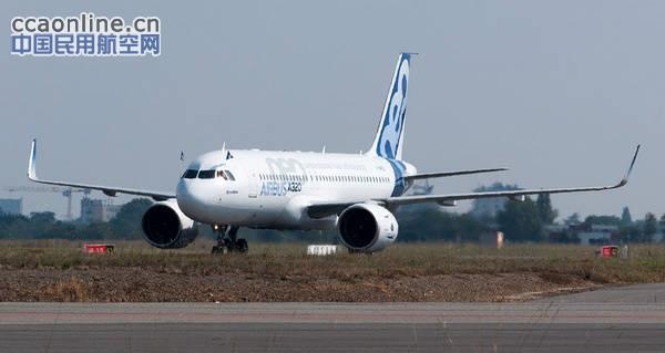 普惠为中国飞机租赁A320飞机提供V2500发动机